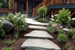 Bluestone Stairs and Perennials